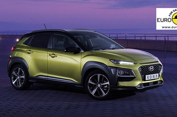 5 Euro NCAP Sterne - Hyundai KONA
