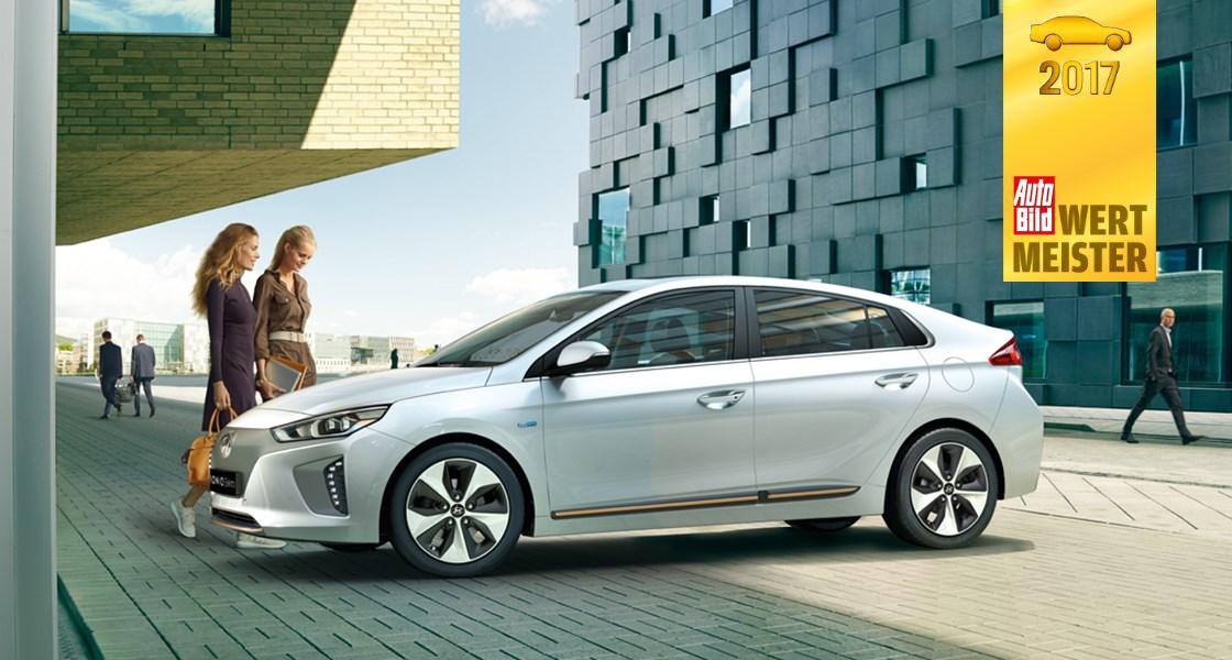 Wertmeister 2017 -  Hyundai IONIQ Elektro