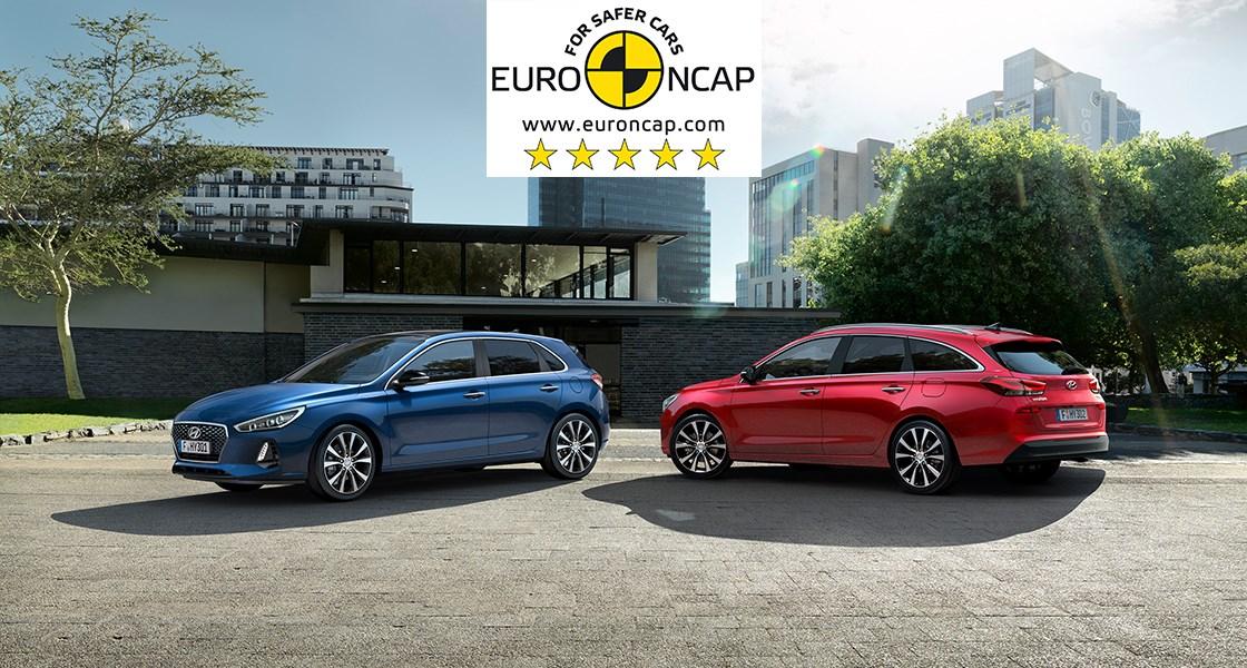 5 Euro NCAP Sterne - Hyundai i30