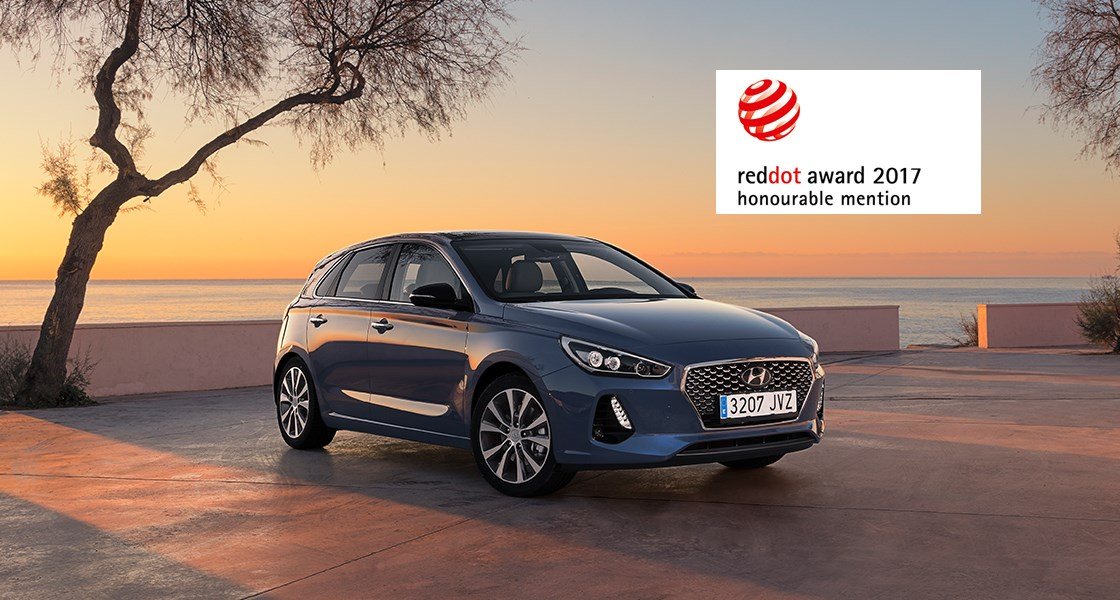 Red Dot Design Award - Hyundai i30