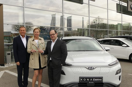 Fleet Car of the Year 2019 - Hyundai Kona Elektro