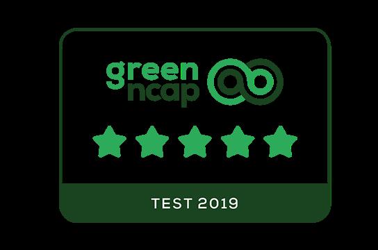 5 Sterne beim Euro Green NCAP-Test.