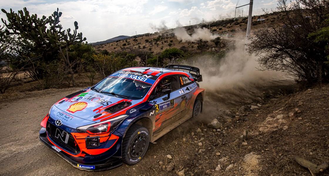 Platz 2 für Hyundai bei der Rallye Mexiko