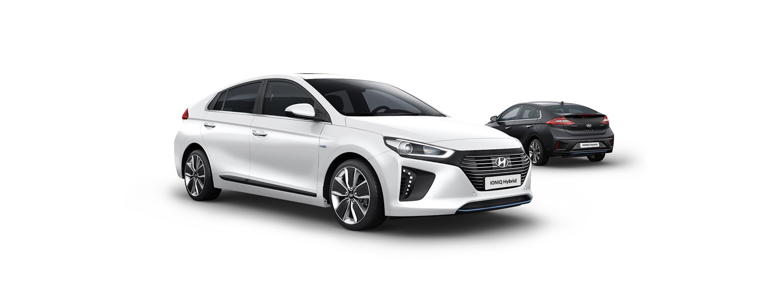 ioniq-hybrid-highlights-side-view-white-infront-black-parked-pc