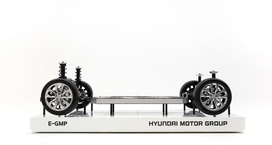 Hyundai rüstet sich mit derElektro-Plattform E-GMP für die Zukunft