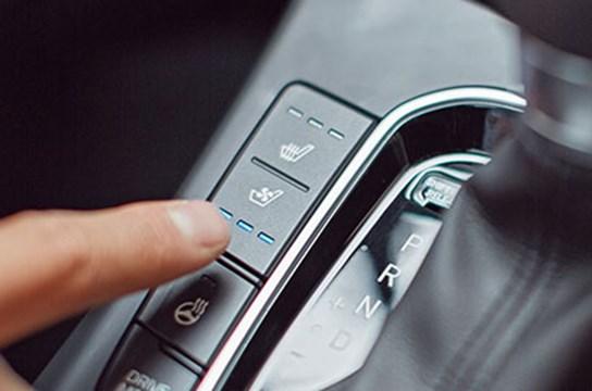 Fahrer- und Beifahrersitz elektrisch belüftbar