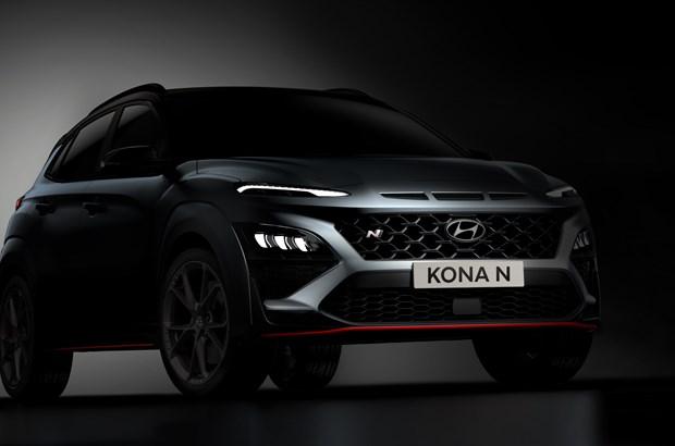 Hyundai enthüllt ersten Eindruck vom neuen KONA N