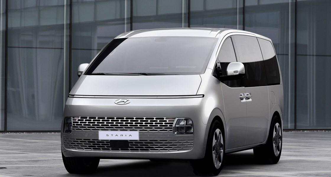 Hyundai enthüllt weitere Details  zum neuen STARIA