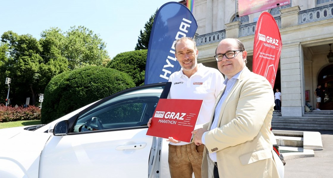 Hyundai als Partner des Graz Marathon 2021