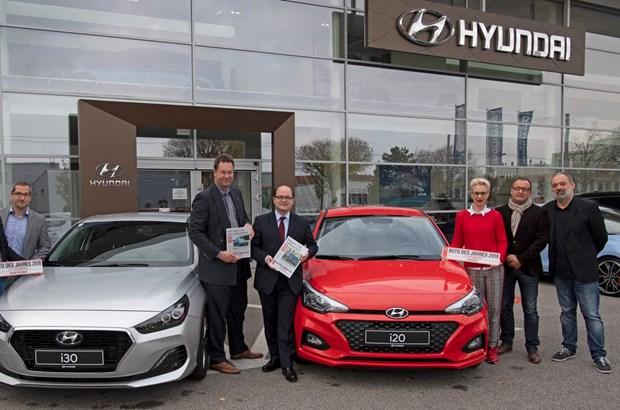 NÖN Autowahl 2018 - Hyundai i20 & i30 Fastback