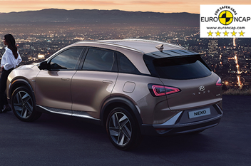 5 Euro NCAP Sterne - Hyundai NEXO