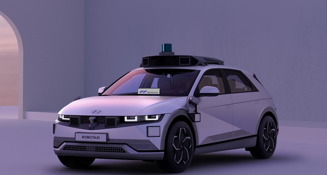 Hyundai und Motional stellen das IONIQ 5 Robotaxi vor